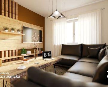 REZERVOVANÝ/ NA PREDAJ | 2 izbový byt 52m2 + veľká terasa - Rezidencia Kožušnícka dom B