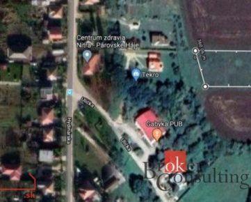 Pozemok Nitra na predaj