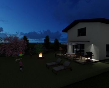 Rodinný dom na predaj Kotešová Holodom - novostavba