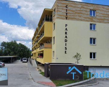 PRENÁJOM - 1 izbový byt, veľká terasa, novostavba City Paradise