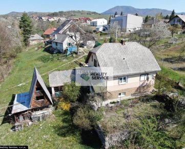 Na predaj RODINNÝ DOM SO ZÁHRADOU, Žiar nad Hronom - P579