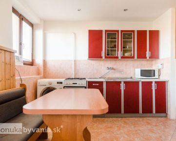 LEHNICE, 2-i byt, 57 m2 - NÍZKE NÁKLADY, vlastný kotol, tehla, GARÁŽ, parkovanie, ZÁHRADA 67 m2