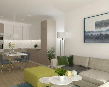 3i byt s výhľadom Zelené Vlčince /C.604