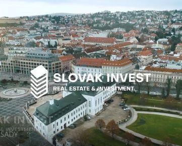 SLOVAK INVEST - Výnimočné byty, Historické centrum, Výhľad na Bratislavský hrad, Grasalkovičov palác, Palisády.