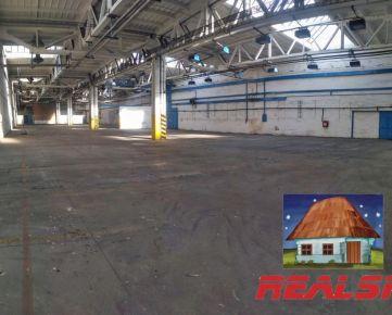 Skladové priestory s rampou v Nitre na prenájom (do 3000 m2)