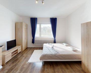 1 izbový byt s kuchynským kútom po rekonštrukcii, zariadený