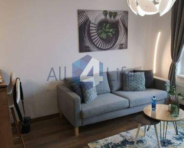 Prenájom 1,5 izb. bytu- komfort a pohodlné parkovanie priamo v obytnom