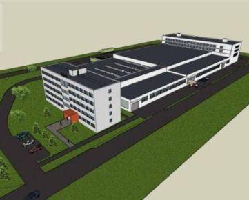 Ponúkame na predaj výrobnú a administratívnu budovu, rozloha 25 916 m2