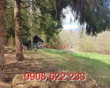 Exkluzívne na predaj krásny veľký rekreačný pozemok v lese, Moštenica, okr. Banská Bystrica