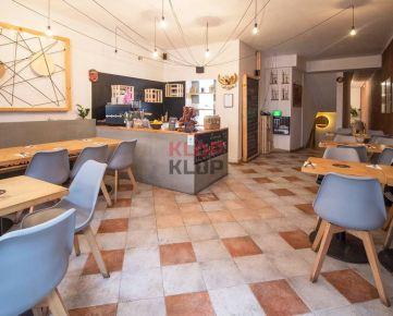 Odkúpte SKVELÚ reštauráciu s TERASOU a DOBROU ATMOSFÉROU v CENTRE