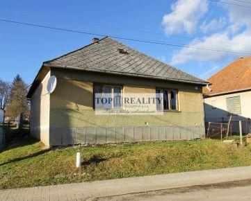 Predaj rodinného domu v obci Nemčiňany, okres Zlaté Moravce