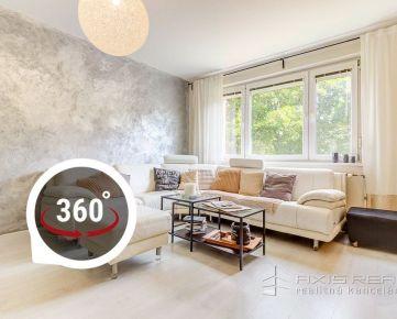 AXIS REAL:: 4-izbový byt, KOMPLETNÁ REKONŠTRUKCIA, BA V. Petržalka