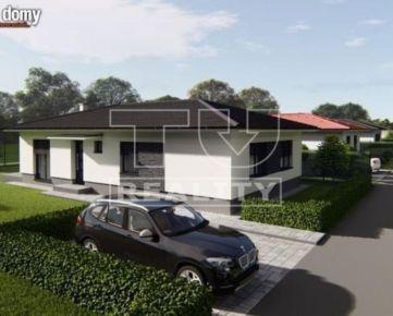 Exkluzívne Novostavba bungalovu na kľúč v Kláštore pod Znievom. CENA: 203 000,00 EUR