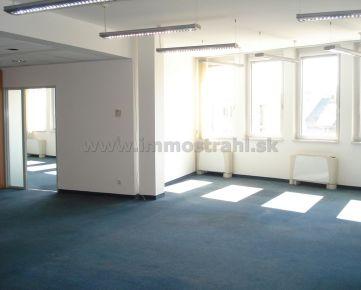 Reprezentatívny kancelársky priestor na prenájom 321 m2 v budove Europeum BC na Suchom Mýte