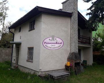 NA PREDAJ 2 podlažná chata v peknom prostredí Záhorskej Bystrice
