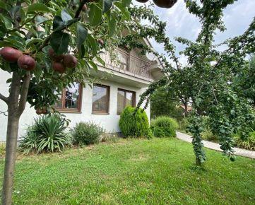 REZERVOVANÉ 4 izbový rodinný dom s garážou,  pozemok 600 m2 len 15 min od mesta NITRA Okamžite voľný