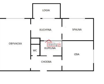 Predám 3 izbový byt v Liptovskom Hrádku, na sídlisku Prekážka.