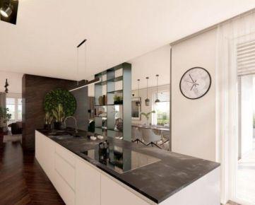 Parádny 4i byt s terasou - najvyššie poschodie v novostavbe Zelené Vlčince (A.811)