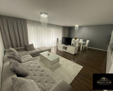 Hneď pri Bratislave - Luxusný štýlový veľkometrážny byt kompletne zariadený v Dunajskej Lužnej s 2 parkovacími státiami