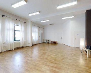 Nadštandardné priestory 355m2 (6 kancelárii + zázemie), Mickiewiczova ul., absolútne centrum, 1.pos