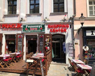 BEZ PROVÍZIE Reštaurácia a obchodné priestory Michalská