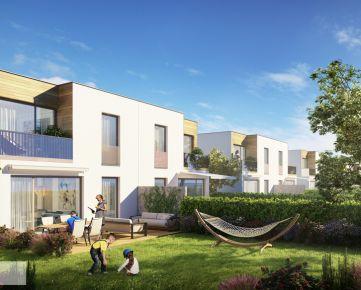 Nový a dostupný 5-izbový rodinný dom s veľkou terasou a záhradou v cene v lokalite Nitry. Exkluzívne iba v púpava development.