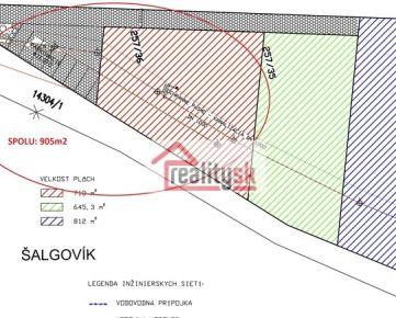 Predám pozemok v Prešove.
