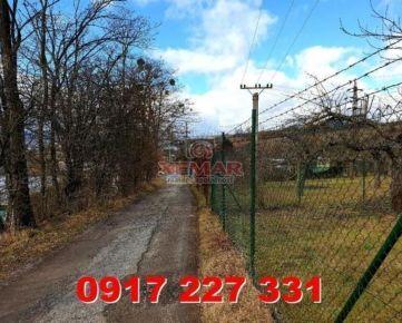 Exkluzívne ponúkame na predaj záhradu na Partizánskej cesta v Banskej Bystrici