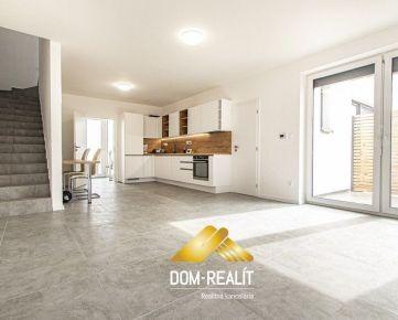 DOM-REALÍT ponúka 4 izbový byt v dvojdome v Ivanke pri Dunaji