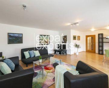Veľkometrážny, slnečný 2i byt, 93, 9 m2, zariadený s balkónom
