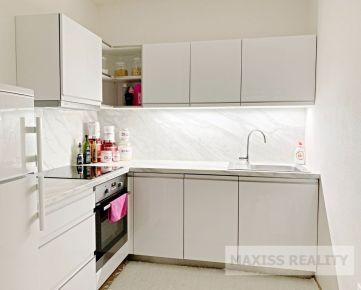 Prenájom veľkého 1-izbového bytu v novostavbe v centre mesta, 48 m2