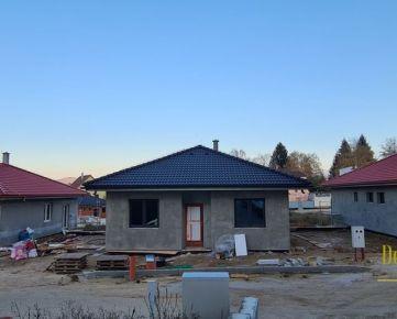 Novostavby rodinných domov v pokojnej lokalite v blízkosti mesta Partizánske