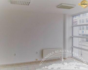 PRENÁJOM - kancelárie so zázemím 113,4m2, Nitra - Centrum