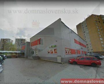 Nájom komerč. priestorov Košice – Sídl. Ťahanovce