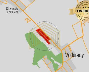 RK FOITT ponúka na predaj stavebný pozemok v obci Voderady