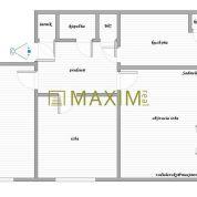 3-izb. byt 68m2, pôvodný stav