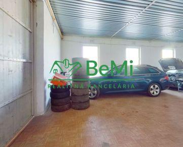 BeMi reality Vám ponúka na prenájom prevádzkové a skladovacie priestory v Župčanoch.