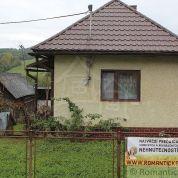 Chalupa, rekreačný domček 60m2, čiastočná rekonštrukcia