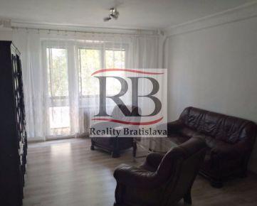 Na prenájom 3 izbový byt na Martinčekovej ulici v Ružinove, BAII