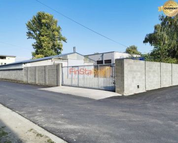 Prenájom 360 m² nevykurovaný sklad s 330 m² dvorom v Trnave