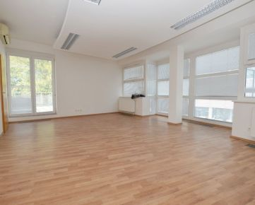 PRENÁJOM kancelárií v administratívnej budove, parkovanie a možnosť skladu, Černyševského ul.