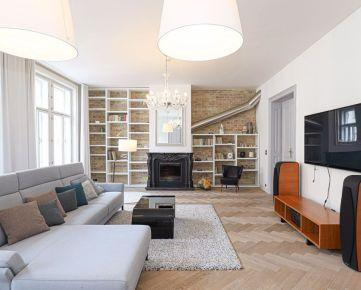 HERRYS - Na prenájom 5 izbový nadštandardný byt s dvoma balkónmi a parkovacím státím priamo v centre, Tallerová ulica