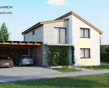6 izbový tehlový rodinný dom 270m2, pozemok 740m2 je v cene