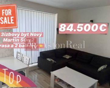 Predaj: 3izbový byt v novostavbe Martin- časť Nový Martin, 50m2