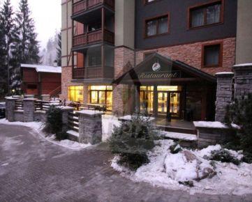 Zabehnutá reštaurácia v apartmánovom dome na prenájom, Hrabovská dolina, Fatrapark II, Ružomberok