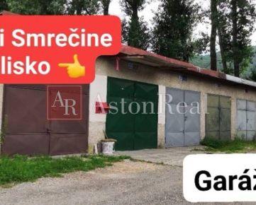 PREDAJ: GARÁŽ, 18 m2, pri Smrečine, B. Bystrica - Uhlisko