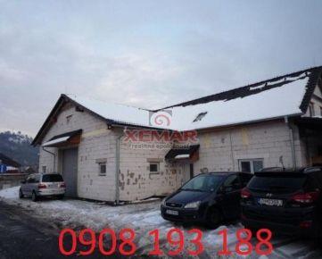 Na predaj dvojpodlažný, administratívno-skladový objekt Žiari nad Hronom