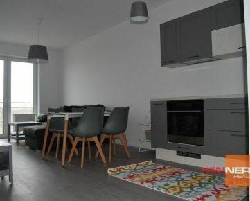 Prenájom 2-izb.byt 46m2+balkón 7m2 + gar.státie; novost.; Na križovatkách; Bratislava II. – Ružinov