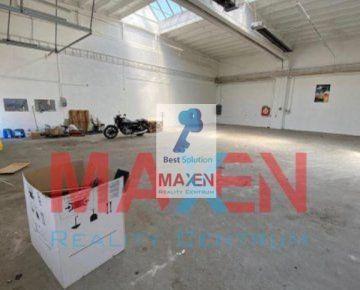 Prenájom: *MAXEN*, HALA 220 m2 s kanceláriami 68 m2, prízemie, 2.NP kancelárie 59,35m2, Areál Južná tr., Košice IV - Juh