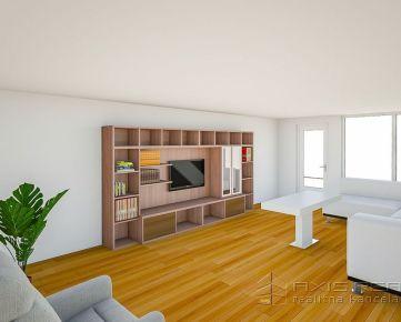 360° VIRTUÁLNA PREHLIADKA:: Veľký 4-izb. byt, kompletná rekonštrukcia, centrum, Malacky, Záhorácka ul.